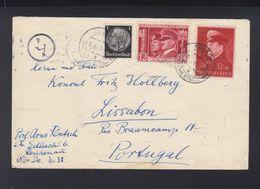 Dt. Reich Österreich Brief 1941 Reichenau Nach Portugal - Deutschland
