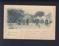 Dt. Reich AK Gruss Aus Dem Kaisermannöver 1899 Stuttgart - Manöver