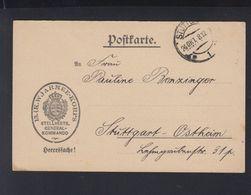 Württemberg Heeressache 1918 13. Armeekorps Stuttgart - Wuerttemberg