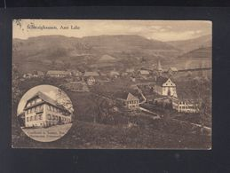 AK Schwaighausen Amt Lahr Gastahaus Z. Sonne 1927 - Lahr