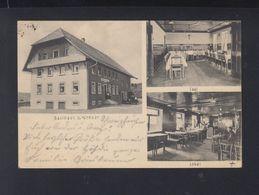 AK Gasthaus Z. Kreuz Ob. Biederbach 1932 - Waldkirch