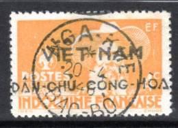 VIETNAM - 1946 -    NGA-KHE  N°2  Obl : Surcharge  VIET-NAM DAN CHU CONG HOA - Vietnam