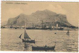 B3030-Palermo,porto E Monte Pellegrino, Non Viaggiata Perfetta. - Palermo