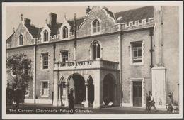 The Convent (Governor's Palace), Gibraltar, C.1930s - Rex RP Postcard - Gibraltar