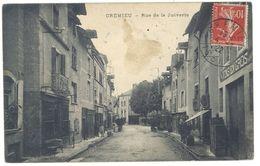 Cpa Crémieu - Rue De La Juiverie - Crémieu