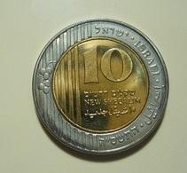 Israel 10 New Sheqalim - Israel