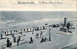 BLANKENBERGE - La Plage à Marée Haute - Edition Joseph Scheers, Blankengerghe - N'a Pas Circulé - Blankenberge