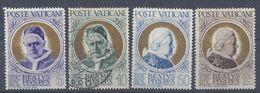 VATICAN - 1951 - N° 163/166 - Neufs X Traces (164 Oblitéré) Cote 25 € - B/TB - - Vaticaanstad