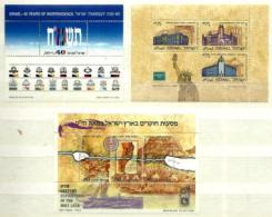 Israel HB 32-36/7 En Nuevo - Hojas Y Bloques