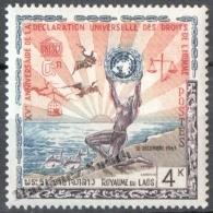 Laos 1963 Yvert 93, 15th Anniv. Of The Universal Declaration Of Human Rights - MNH - Laos