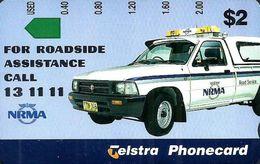 AUSTRALIA $2 NRMA CAR INSURANCE AD NOT FOR SALE AUS-494 MINT 1000 ONLY !! TAMURA READ DESCRIPTION !! - Australia