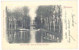 Cpa Naurouze - Canal Du Midi - Bief Du Partage Des Eaux - France