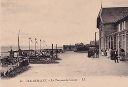 LUC-SUR-MER- LA TERRASSE DU CASINO - Luc Sur Mer