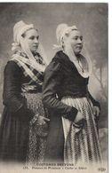 PLOUESCAT - COSTUMES BRETONS - FEMMES DE PLOUESCAT - CLEDER ET SIBIRIL - COIFFES - COIFFE - Plouescat