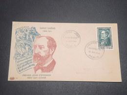 FRANCE - Enveloppe FDC De Camille Saint Saëns En 1952 - L 11914 - FDC