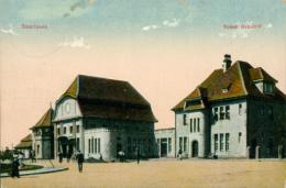 DE / SAARLOUIS / Neuer Bahnhof / - Kreis Saarlouis