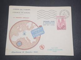 FRANCE - Enveloppe FDC Du Conseil De L 'Europe En 1958 - L 11918 - FDC