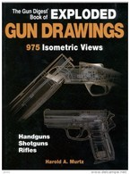 Exploded Gun Drawings,1034 Pages Sur DVD,975 Isometric Views Handguns Shotguns Rifles Manufacturer's Directory + More - Catalogues