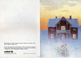 Buildings & Architecture.Frost Mist.UNICEF Postcard.Kjell Thorjussen - Norway/Norwege - Other