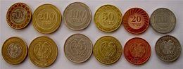 ARMENIA 2003-2004 SERIE 6 MONETE CON BIMETALLICA 500-200-100-50-20-10 DRAMS - - Armenia