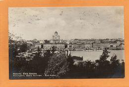 Helsinki Finland 1930 Postcard Mailed - Finlande