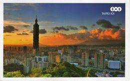Taiwan Taipei Via Macedonia.nice Stamp - Taiwan