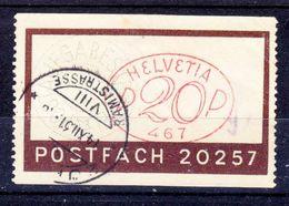 POSTFACH 20257 -  1931 - V/IMAGE - Affrancature Meccaniche