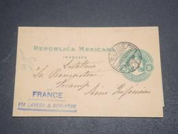 MEXIQUE - Entier Postal De Mexico Pour La France En 1904 Via Laredo Et New York - L 11928 - Mexico