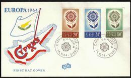 Cyprus 1964 / Europa CEPT / FDC - Europa-CEPT