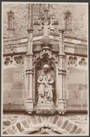 Madonna & Child, St David's Cathedral, Pembrokeshire, C.1930 - RP Postcard - Pembrokeshire