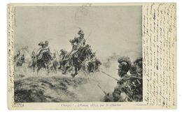 CPA MILITAIRES REPRO TABLEAU CHARGEZ Hanau 1813 - Militari