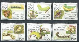 213 AFGHANISTAN 1996 - Yvert 1494/99 - Chenille Papillon - Neuf ** (MNH) Sans Trace De Charniere - Afghanistan