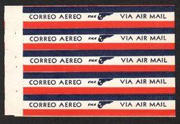VIGNETTES « CORREO AEREO/ PAA/ VIA AIR MAIL» - Avions