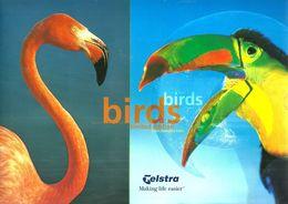 AUSTRALIA SET OF 4PHONECARD CLUB ISSUE PARROT BIRD MINT CHIP CODE: 98/73-76P-L1-4 1500 ONLY!!!!!! FOLDER VERY SCARCE !!! - Australia