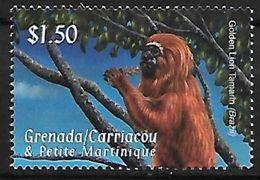Grenada - MNH - Golden Lion Tamarin (Leontopithecus Rosalia) - Apen
