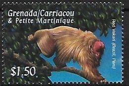 Grenada - MNH - Bald Uakar (Cacajao Calvus) - Apen