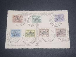 VATICAN - Série Des Clefs Sur Carte Postale En 1939 , Oblitération Plaisant - L 11947 - Vatican