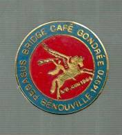 PINS PIN'S CHEVAL AILE LICORNE ANIMAL  PEGASSE BRIDGE CAFE GONDREE BENOUVILLE  EGF - Animals