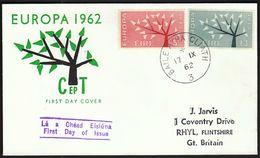 Ireland 1962 / Europa CEPT / FDC - 1962
