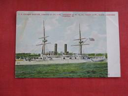 U.S. Cruiser Boston   Ref 2805 - Warships