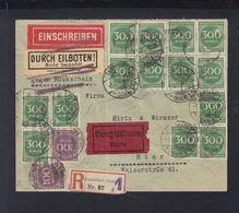 Dt. Reich Expresbrief 1923 Frankfurt Am Main - Deutschland