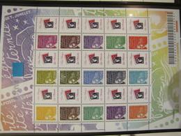 FEUILLE DE 10 TIMBRES PERSONNALISES  LUQUET GOMMES N° 3688B  ** LOGO NOTRE PASSION - France