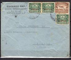 Equateur - N° 248 X3 Et PA N° 20  Obli/sur Lettre Pour L'Italie  - - Equateur