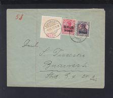 Romania German Occupation Cover 1917 Bucuresti - Storia Postale Prima Guerra Mondiale
