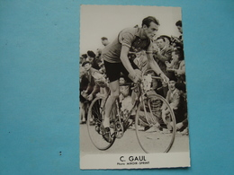 Cyclisme - Carte Photo - C. Gaul - Photo Miroir-Sprint - Cyclisme