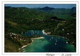 CPM Marigot St. Lucia - Bird's Eye View Of Marigot Bay St. Lucia - Santa Lucia
