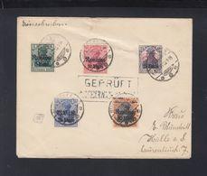 Besetzung Rumänien Romania Brief 1918 Bukarest Nach Halle(2) - Besetzungen 1914-18