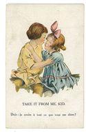 CPA ILLUSTRATEUR ANGLAIS ENFANTS - Illustratori & Fotografie