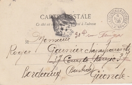 """DEPART Le 22/11/1905 De DIEGO SUAREZ - OBLIT. """"LA REUNION à MARSEILLE"""" LV N°4 - Postmark Collection (Covers)"""