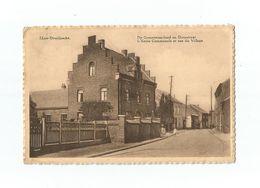 IJzer-Overijssche.  De Gemeenteschool En Dorpstraat.  L'Ecole Communale Et Rue Du Village (1939). - Overijse